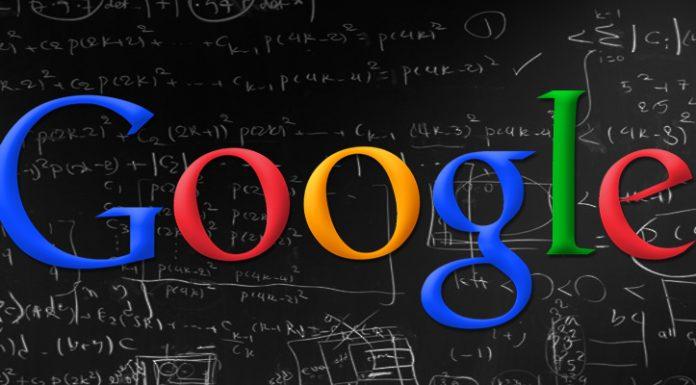 Google algorithm