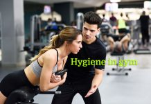 hygiene in gym