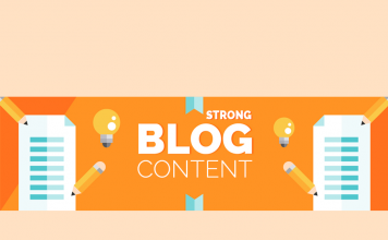 strong blog content