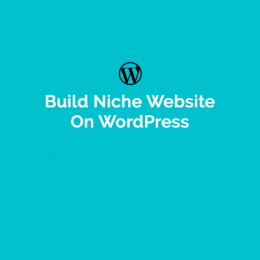 How To Build Niche Website On WordPress?
