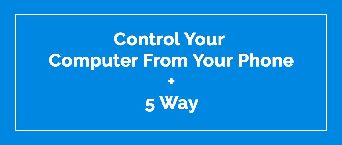 Control your computer Kabir Post