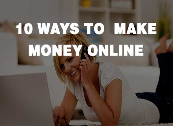 Niche 10 Ways To Make Money Online.
