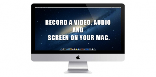 How to Record a Video on your Mac.
