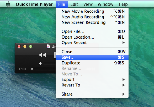 Record a Video on your Mac