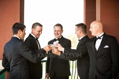 How to wear a Tuxedo.