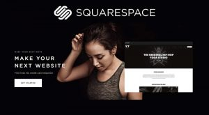 Stand out now with your website thanks to Squarespace.