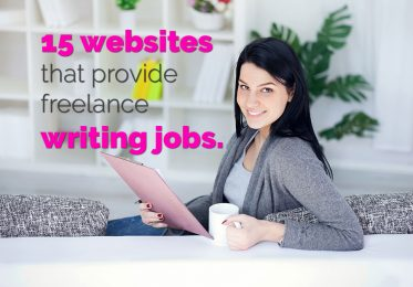 15 websites that provide freelance writing jobs.
