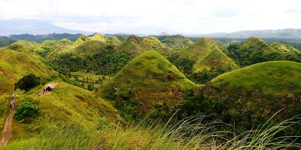 Philippines tourism chocolate hills